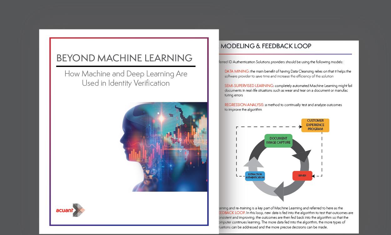 Machine Learning Identity Verification Acuant